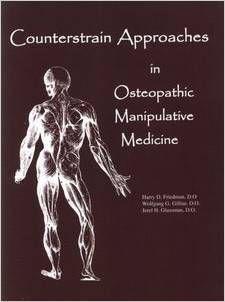 Friedman HD, Gilliar WG, Glassmann JH. Counterstrain approaches in osteopathic manipulative medicine. San Francisco: SFIMMS Press; 2009. http://www.painreliefhealthandwellness.com/books.html