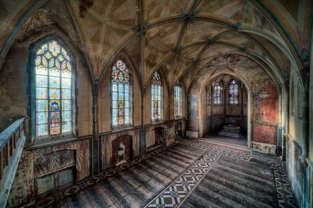 abandoned Chruches | ... that he took of abandoned churches that made an impression on me