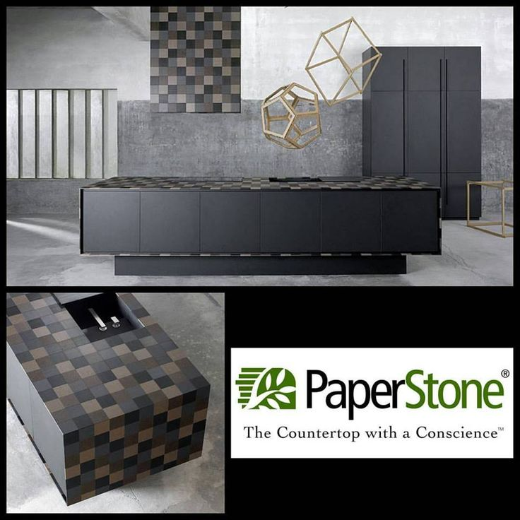 PaperStone samples can be used used for anything! Look at the beautiful countertop carefully crafted to become a beautiful masterpiece.   Versatility never looked so great, while remaining tough and backed by a 10 year warranty. This product is made from 100% recycled paper and is one of the greenest surfaces in the world.   For business inquiries visit www.sipeast.ca or contact our office at 416.679.8833