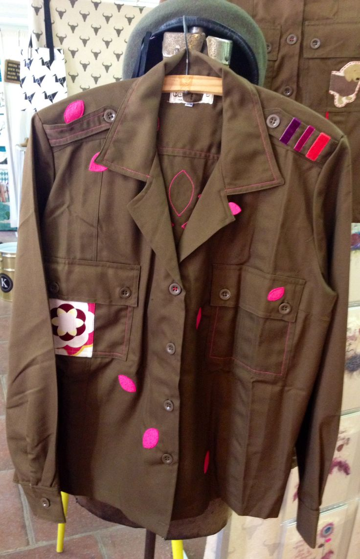 Lotus military jacket