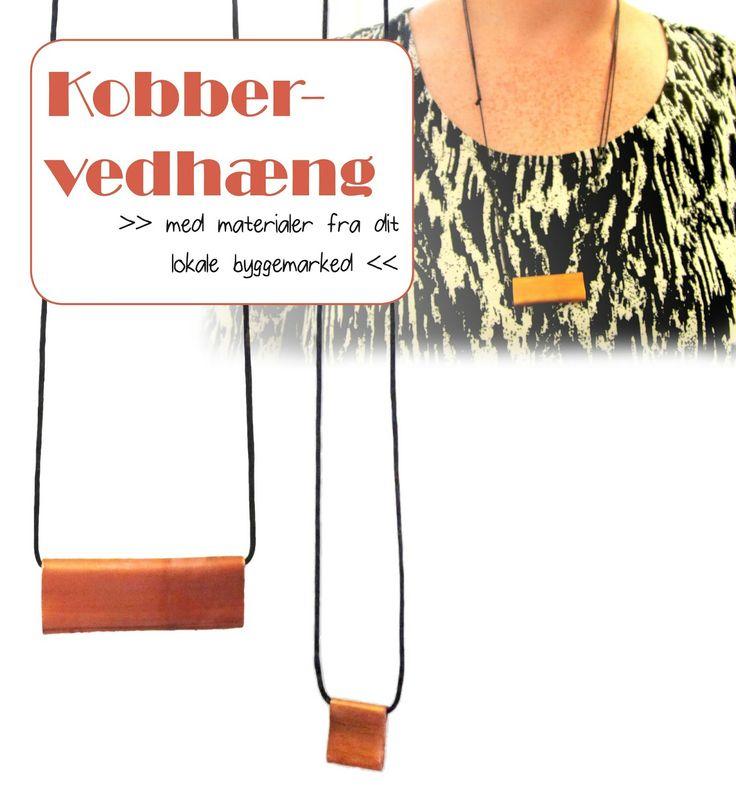 Copper pendant necklace | Leth.it.be.
