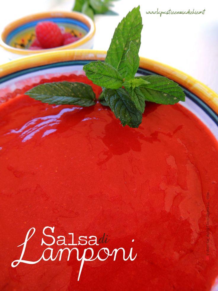 Buona e colorata, di facile realizzazione......La SALSA DI LAMPONI vi aiuterà a dare al vostro dessert un'eleganza degna della miglior pasticceria! #SalsadiLamponi #Raspberrysauce #Sauce  Trovate qui la ricetta: www.lapasticceriadichico.it/2015/05/salsa-di-lamponi.html Trovate qui la videoricetta: www.youtube.com/watch?v=4E_k-eGmtfI