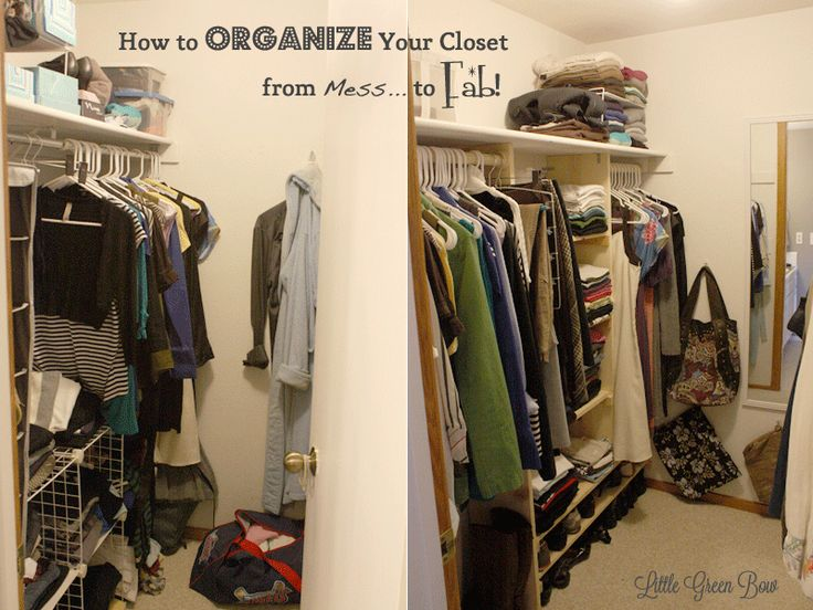 17 best images about closet space on pinterest closet for How to organize your walk in closet
