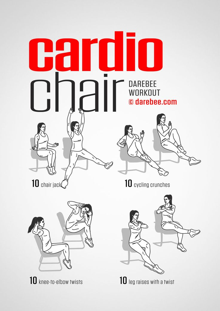 Cardio Chair Workout