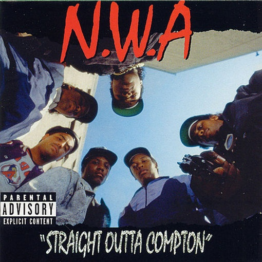 Album- Straight Outta Compton Artist- N.W.A. Released- 8 August 1988 Label- Ruthless Records