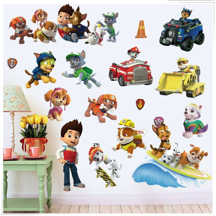 17 best ideas about paw patrol wall decals on pinterest for Collant mural hibou