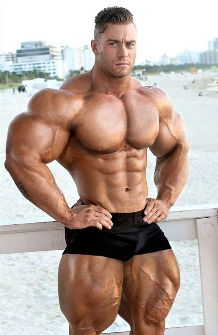 Massive Mature Muscle God