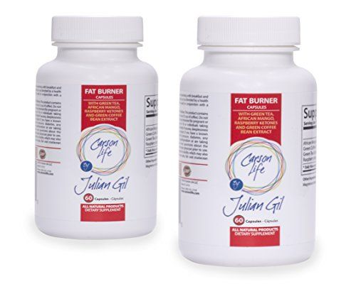 Carson Life Thermogenic Fat Burning Pills By Julian Gil - Energy Booster