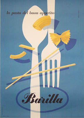 Carboni Barilla Pasta by Galerie Montmartre, via Flickr