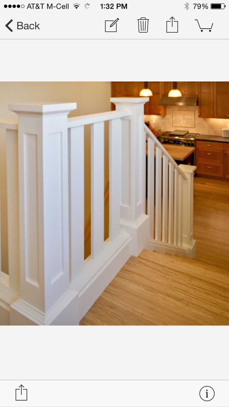 Best Houzz Stair Craftsman Staircase White Staircase Wood 640 x 480