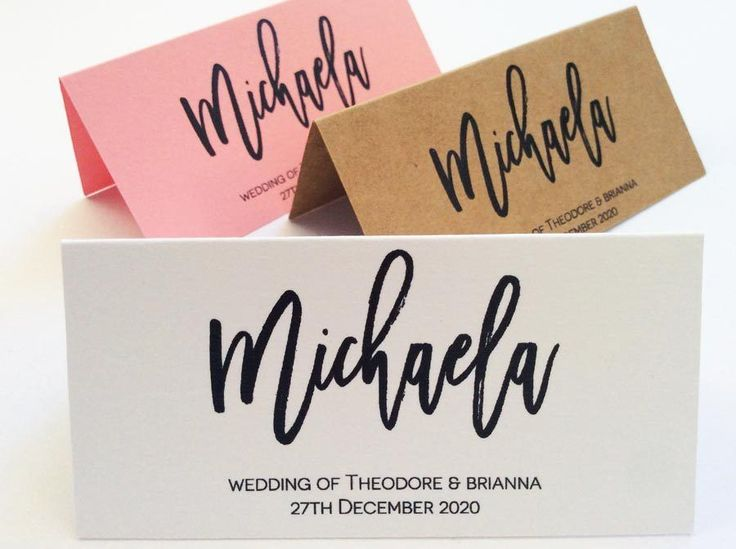 Wedding+Name+Placecards+Personalised+Name+Custom+Escort+Cards+Guest+Name+Table