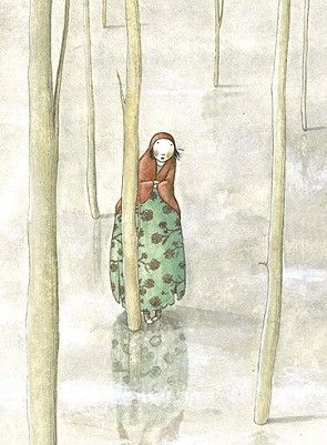 :: Sweet Illustrated Storytime :: Illustration by Elena Odriozola :: In the woods