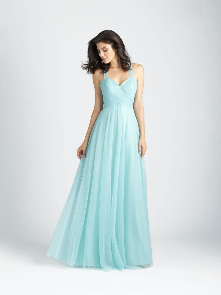 Style: 1506. Gorgeous tulle needs no other embellishment than a softly ruched sweetheart bodice.