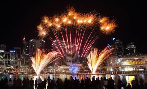 Fireworks - Darling Harbour