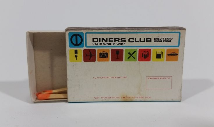 Vintage Diners Club Credit Card Hong Kong Souvenir Promotional Wooden Matches Pack Travel Collectible https://treasurevalleyantiques.com/products/vintage-diners-club-credit-card-hong-kong-souvenir-promotional-wooden-matches-pack-travel-collectible #Vintage #DinersClubs #CreditCard #HongKong #Souvenir #Promotional #WoodenMatches #MatchPacks #Matches #Travel #Tourism #Travelling #Collectibles