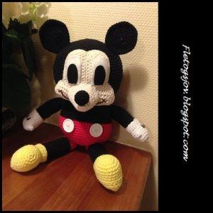 Mickey Mouse - dansk opskrift.
