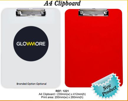A4 Clipboard - Keep your business organised and your brand Visible - Unbranded R27.95