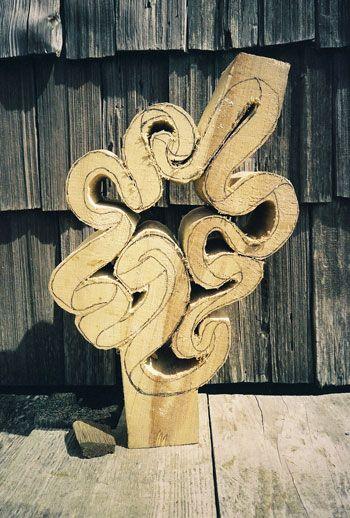 John McAbery - houtsnij proces - stap 2