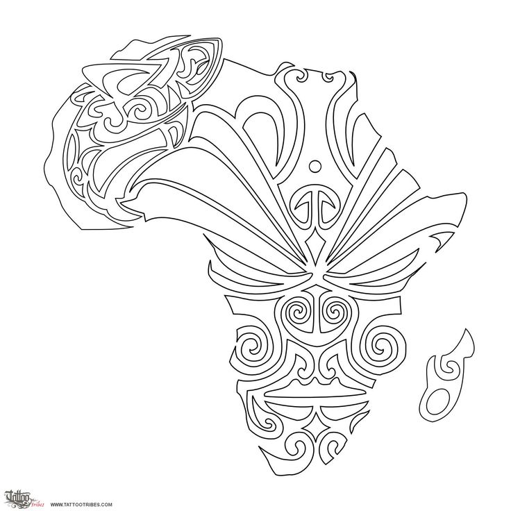 32 best African Angels For Women Tattoo Design Stencils