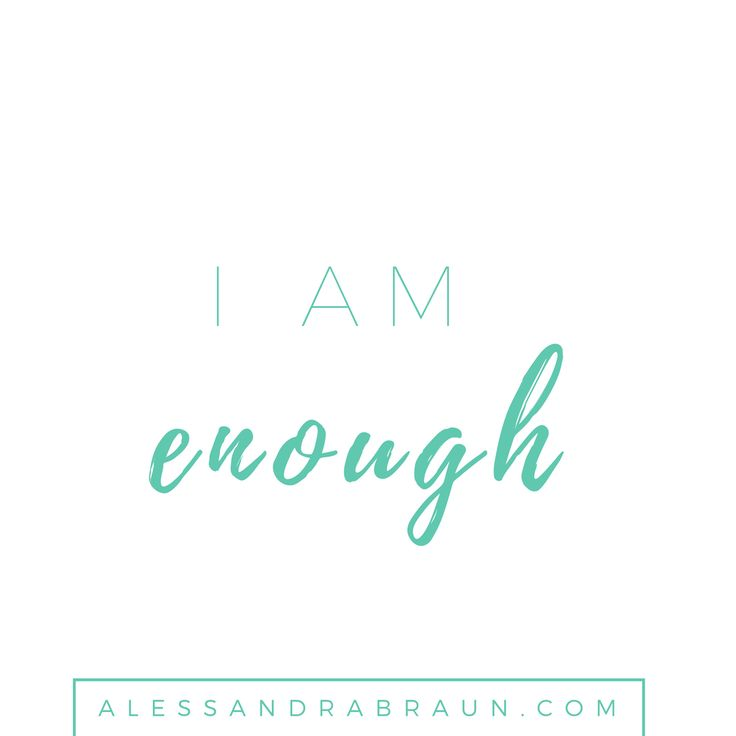 I am Enough | 31 Positive affirmations for every day of the month | Positive Thinking | Self Discovery | Personal Development