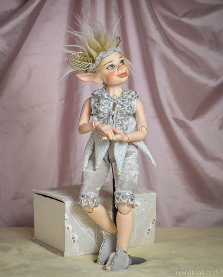Standing BJD doll. Male Ball Jointed Doll by LegendLand Dolls