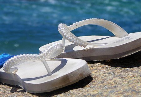 How to Get Smell Out of Flip Flops