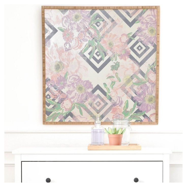 DENY Designs Khristian A Howell Bouquet In Neutral Framed Wall Art