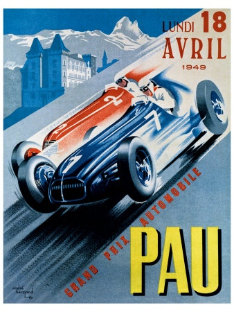 Vintage Race Posters