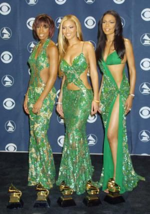 Grammy Red Carpets: The Most Outrageous Outfits of the Decade: Destiny's Child at the 43rd Annual Grammy Awards