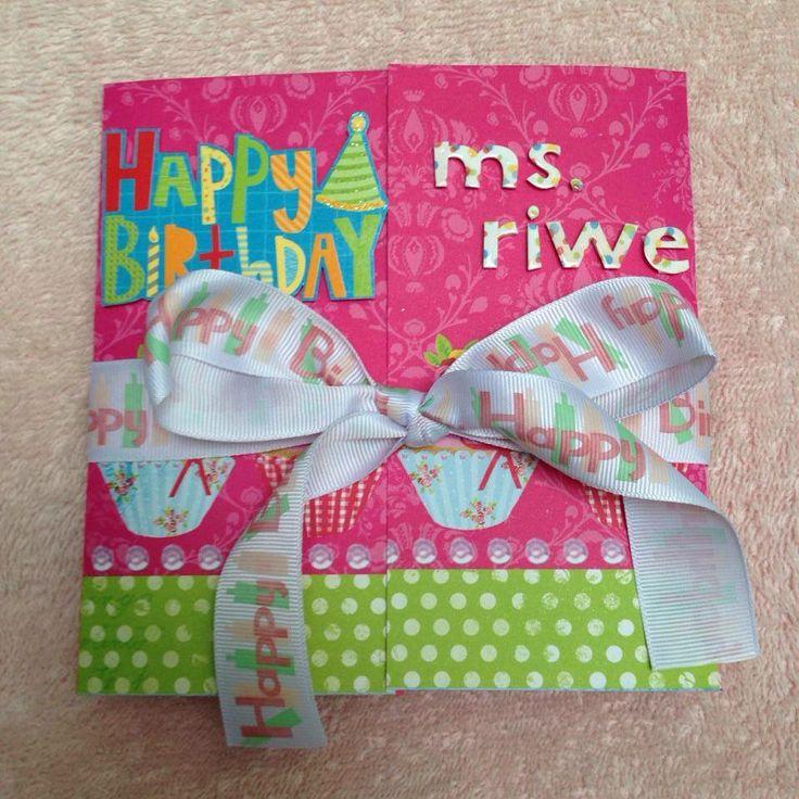 Cute birthday cards ideas #handmadegift #scrapbook #greetingcards #papercraft #giftideas