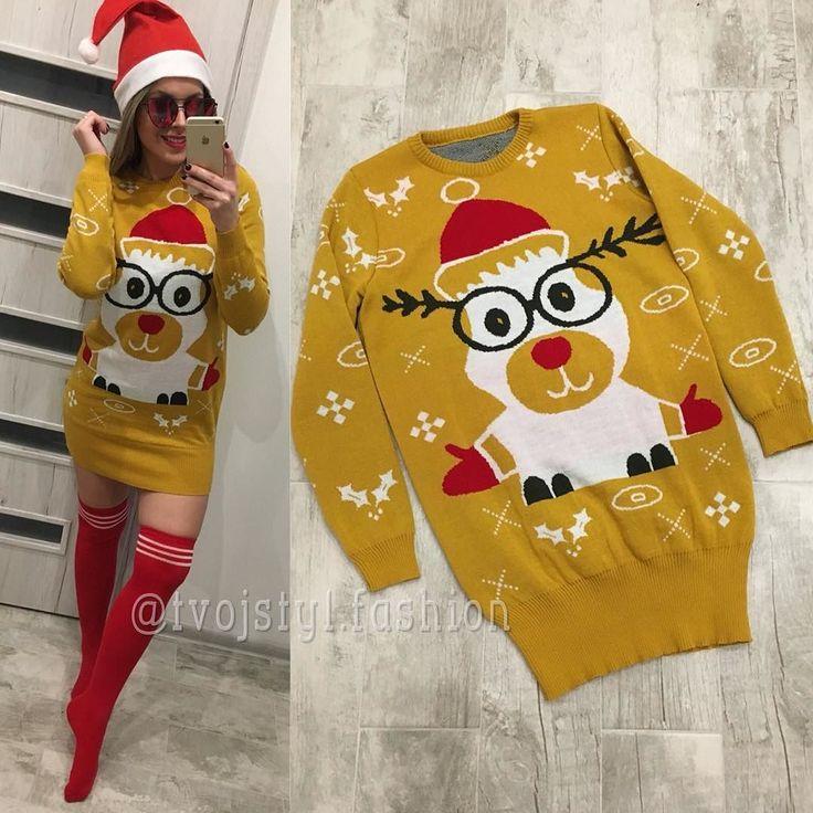 Novinka  vianočné šaty či predĺžený sveter ? UNI 3390 mäkkučký teplúčky material  IHNEĎ K ODBEU #newcollection#tvojstyl#tvojstylfashion