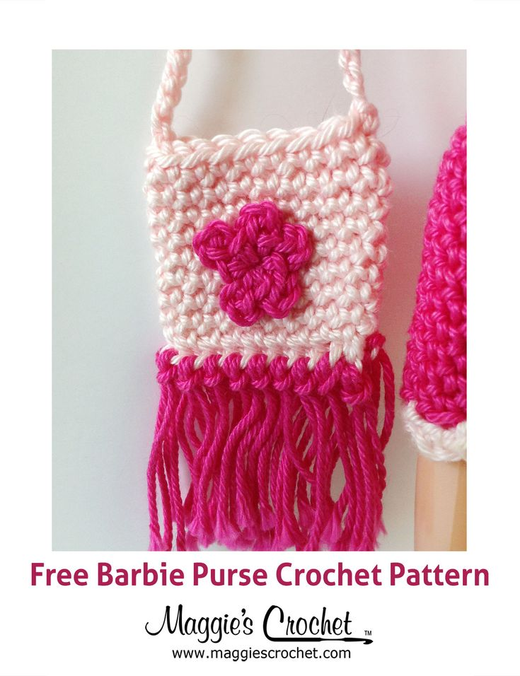 Crochet Pattern For Doll Purse : 15 best images about Am. barbie doll crochet clothes on ...