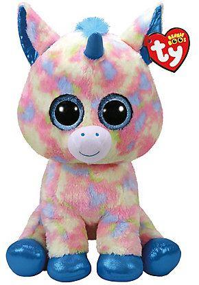 Blitz Unicorn Jumbo Beanie Boo