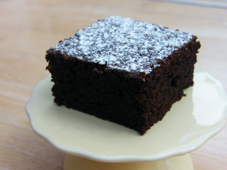 Easy Chocolate Ginger Brownies