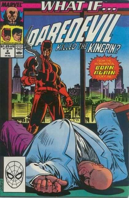 Kingpin - Daredevil - Gun - Born Again - Smoke