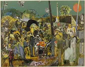 Romare Bearden.  Profile/Part 1,  The Twenties:  Pittsburg Memories, Farwell Eugene, 1978