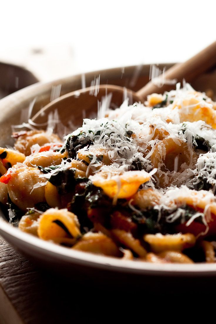 Orecchiette With Tomato Sauce and Kale Recipe - NYT Cooking