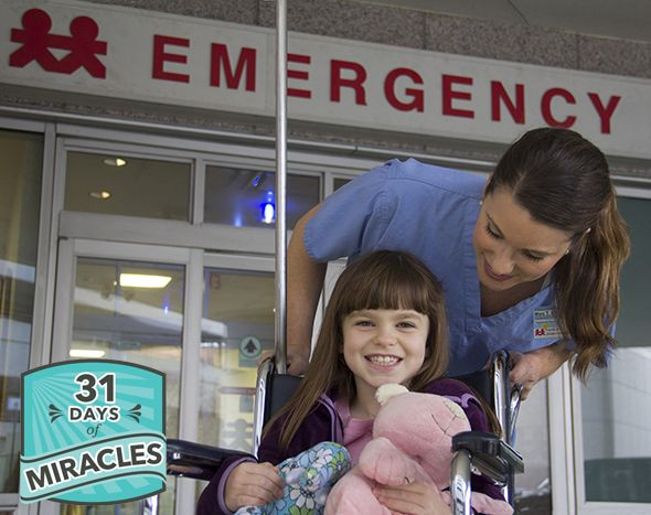 31 Days of Miracles from Monroe Carell Jr. Children's Hospital at Vanderbilt  - beautiful posts about miracles that have happened in the lives of children served by the hospital. | really looking forward to this series!