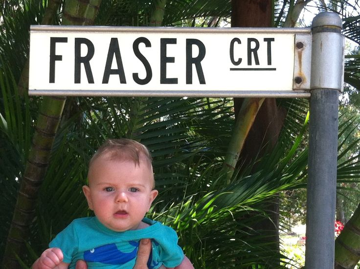 Our baby Fraser, at Orchid beach. Sept 2013