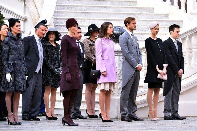 Monaco Royal Family, Novemeber 19, 2015    Royal Hats