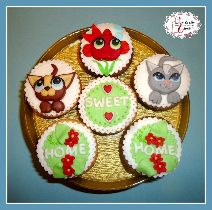Lovely pets cupcakes