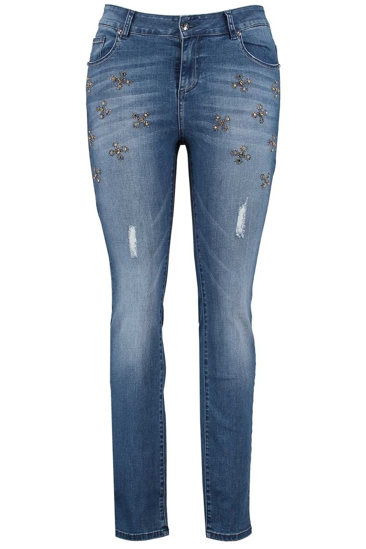 Slim leg jeans | Fashion | Plussize fashion | Spijkerbroek  | Exclusive Collection