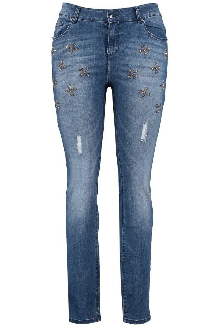 Slim leg jeans | Fashion | Plussize fashion | Spijkerbroek  | Exclusive Collection