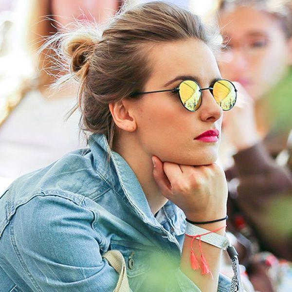 Os óculos da modelo Alessandra Ambrósio.
