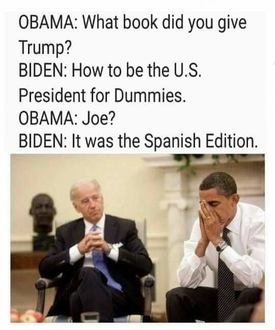 Joe and Obama Memes