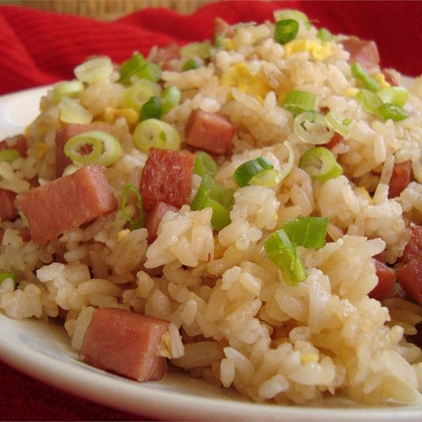 "Island-Style Fried Rice | ""Everyone in Hawaii has their own version of fried rice. This is my own version of fried rice that the locals ate in Hawaii."""
