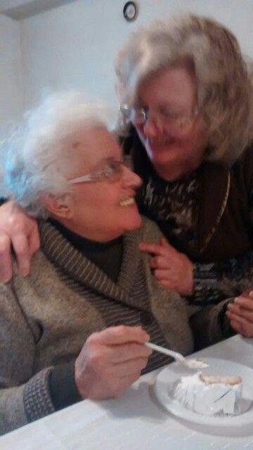 Con mi mamá!! La mejor del mundo