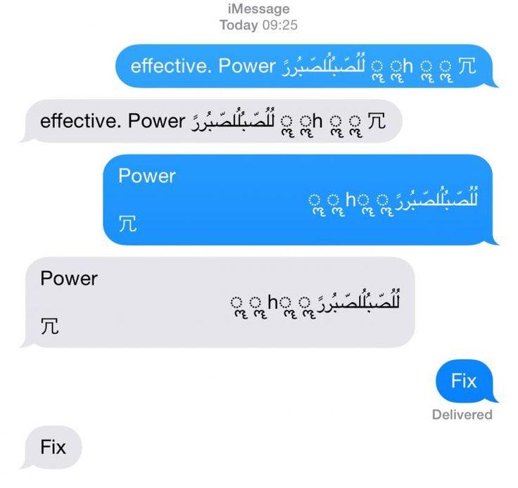 Un bug recién descubierto hace que el iPhone falle por completo y se reinicie cuando recibe un mensaje de texto con estos caracteres: effective. Power لُلُصّبُلُلصّبُررً ॣ ॣh ॣ ॣ 冗 Una vez reiniciado, cada vez que abres la aplicación de mensajería, vuelve a fallar. Aparentemente el problema ocurre en el código que controla las…
