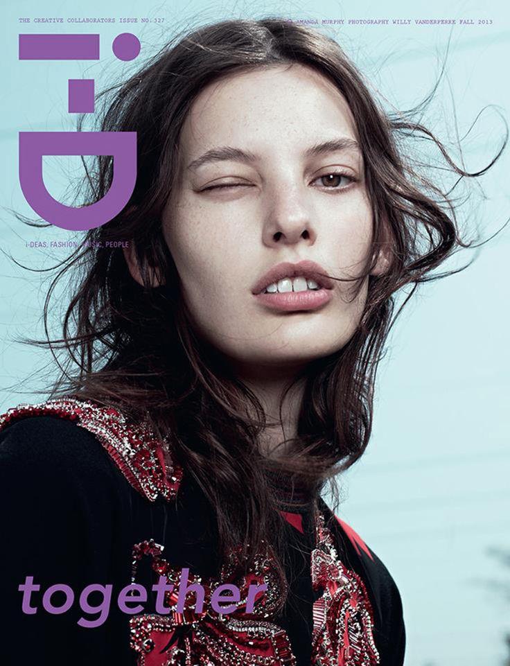 Amanda Murphy iD Magazine i D Magazine Fall 2013 Covers