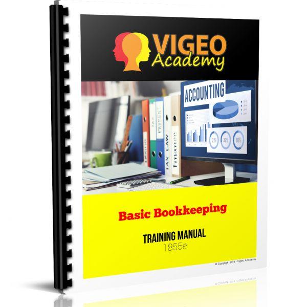 Basic Bookkeeping Training Manual 1855e